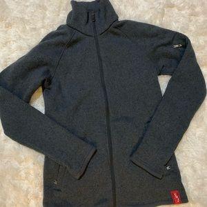NWOT EMS winter zip up sweater jacket